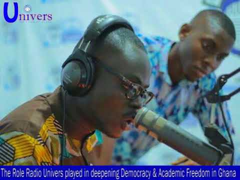 Role Radio Univers played in deepening democracy and academic freedom in Ghana
