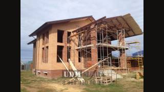 Строительство крыши с покрытием из гибкой двуслойной черепицы