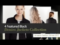4 Featured Black Denim Jackets Collection Amazon Fashion, Winter 2017