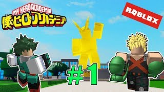 THE BEST MY HERO ACADEMIA VIDEOGAME #1 (BOKU NO ROBLOX: REMASTERED)