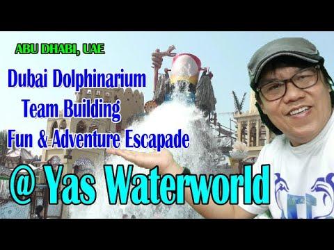 DUBAI DOLPHINARIUM STAFF TEAM BUILDING (late upload))@ YAS WATERWORLD | ABU DHABI, UAE