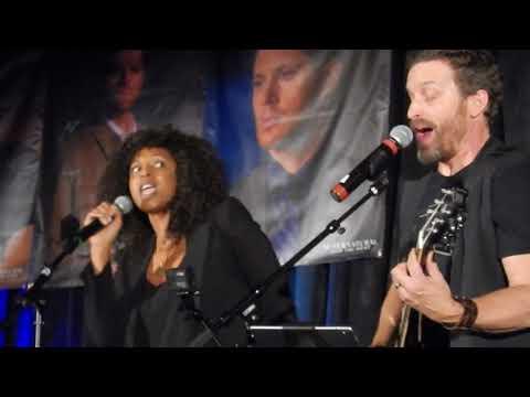 Lisa Berry from Supernatural singing