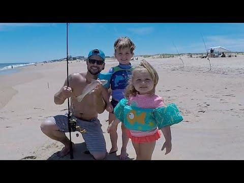 That HOT Summer Kingfish Bite On A Delaware Beach!