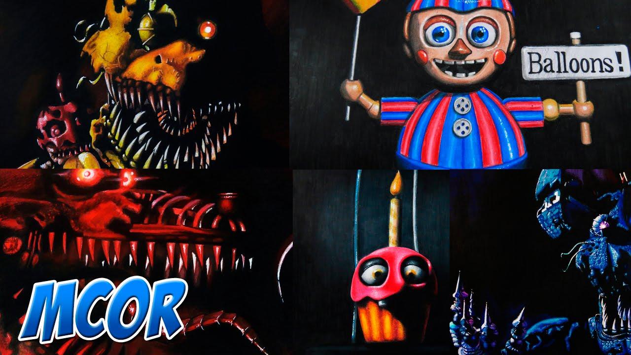 Dibujos De Five Nights At Freddys