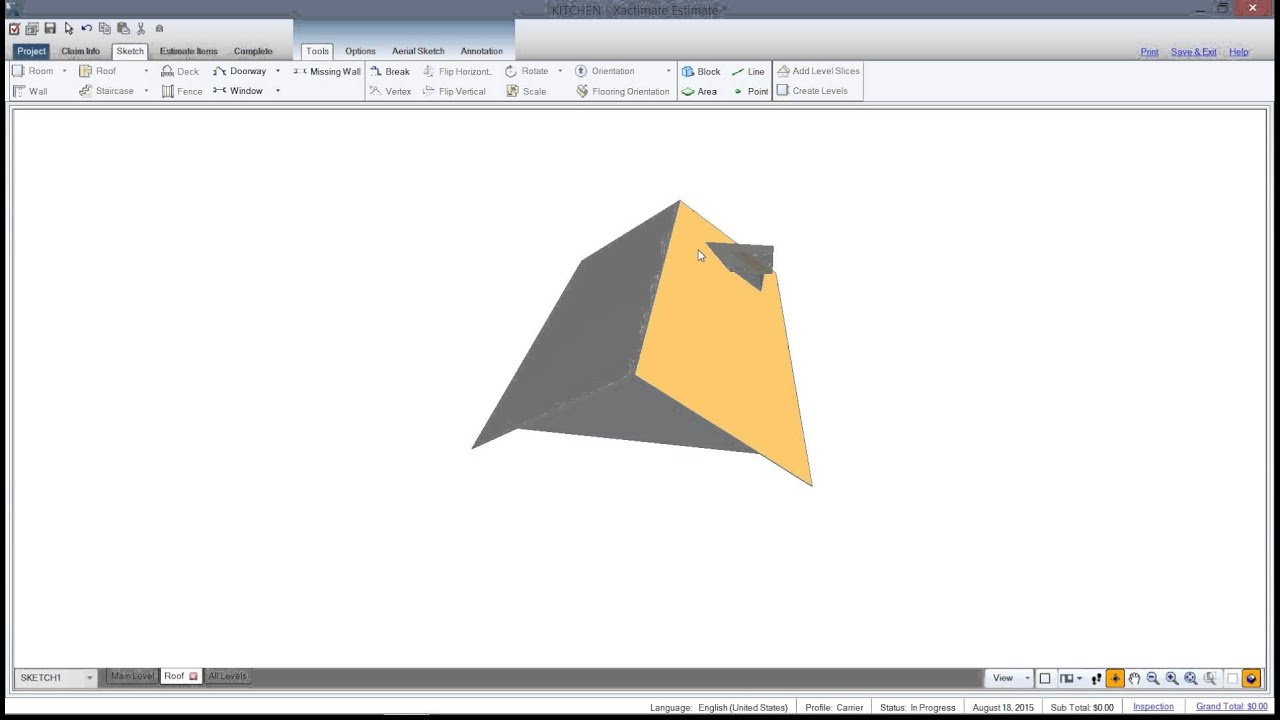 Creating Dormer Roofs