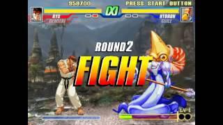Capcom Fighting Evolution - Ryu/Demitri