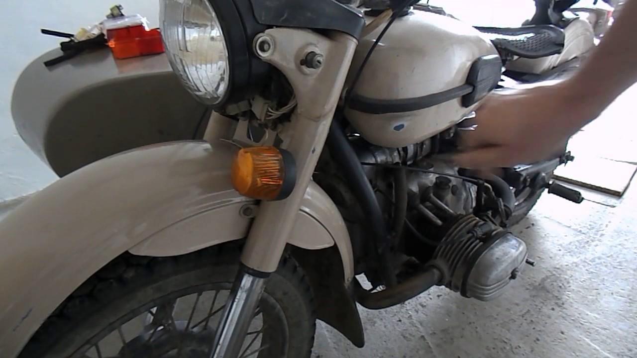 Схема замка зажигания мотоцикл урал фото 319