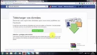 recuperer les messages supprimés sur facebook ارجاع الرسائل المحذوفة علئ فايسبوك
