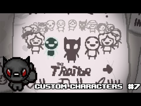 The Binding Of Isaac Afterbirth+ LUA Modding Tutorial #7 - CUSTOM CHARACTERS