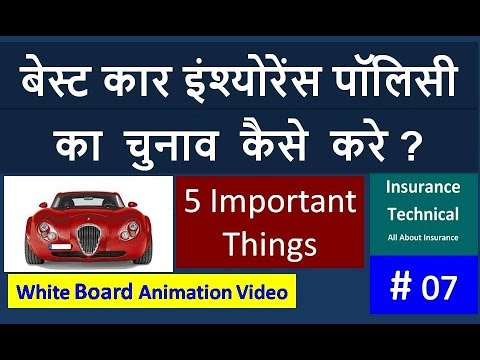 Best Car Insurance Policy : How to select