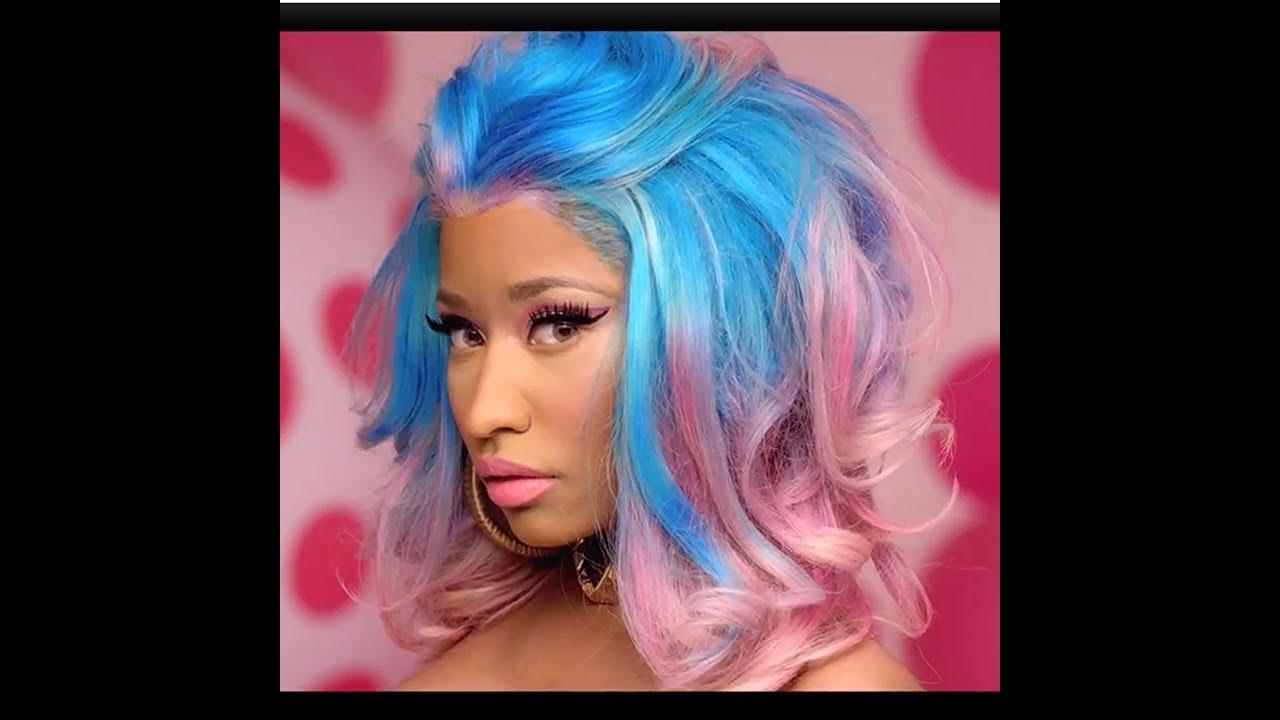 Nicki Minaj - The Boys - Speed Painting by Darryl Barnes - YouTube
