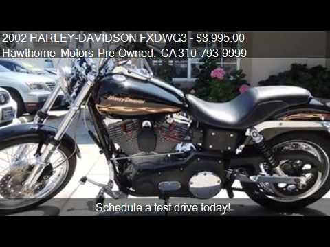 2002 Harley Davidson Fxdwg3 For Sale In Lawndale Ca
