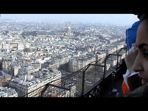 Výlet na Eiffelovu věž, Paříž