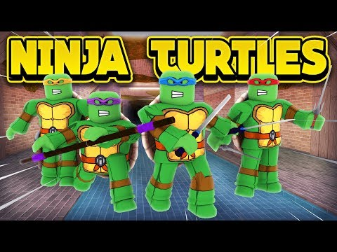 TEENAGE MUTANT NINJA TURTLES IN JAILBREAK! (ROBLOX Jailbreak)