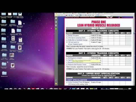 lean muscle building workouts free plan youtube
