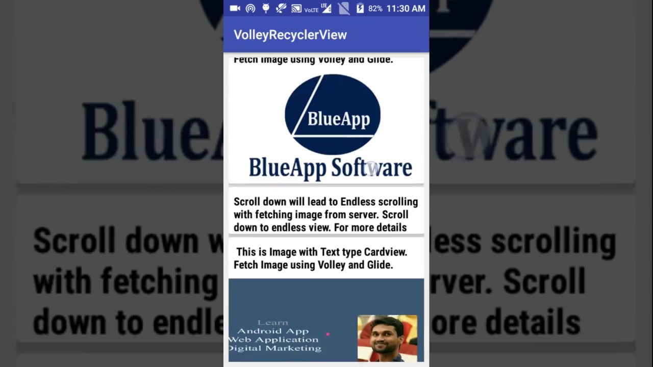 How to create Endless RecyclerView with multiple Image and