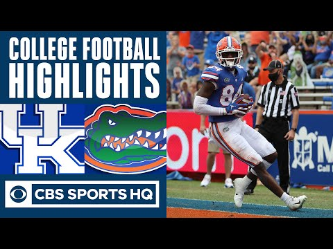 Kentucky vs 6 Florida Highlights: Trask finds Pitts for 3 TDs  CBS Sports HQ