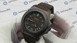 Обзор. Швейцарские титановые наручные часы Victorinox 241779