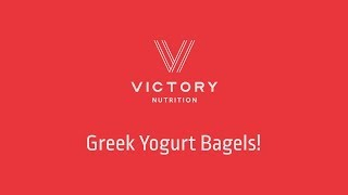 Victory Nutrition Presents: Victory Bagels!