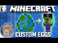 Minecraft pe: how to make custom spawn eggs using command blocks only - 1.0.5 android