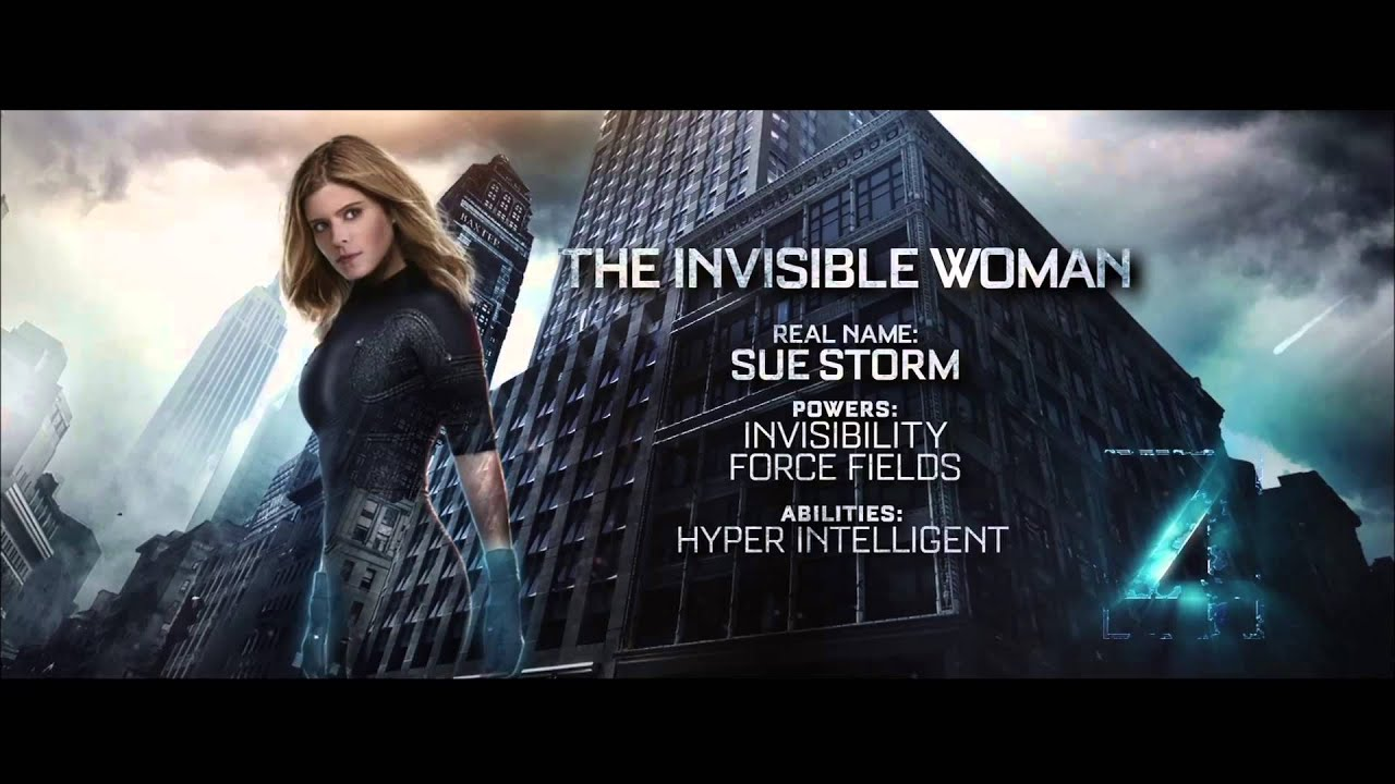 Fantastic Four ... Invisible Woman Powers