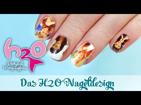 Nail Tutorial Printnails H2o Plotzlich Meerjungfrau Beauty Special Youtube