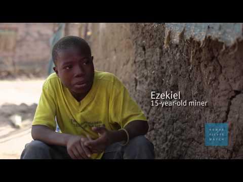 Tanzanie : Enfants travailleurs dans des mines d'or