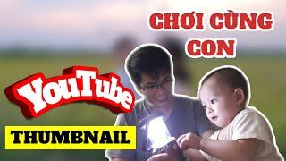 Hướng dẫn thiết kế ảnh THUMBNAIL cho video trên YouTube bằng ĐIỆN THOẠI | kiếm tiền YouTube