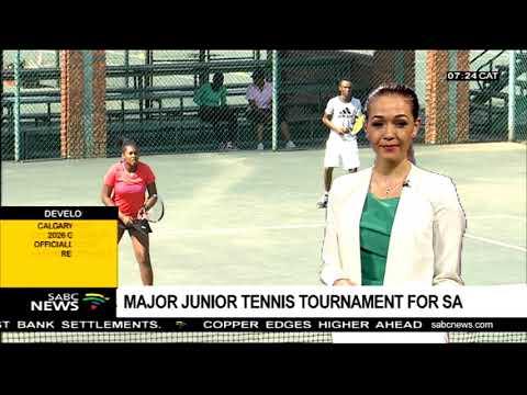 Major junior tennis tournament for SA