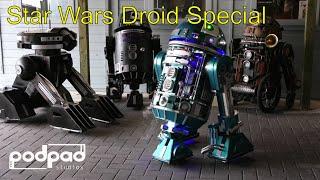 Building Astromech droids. T3-M4. R6. R2-D2. GNK Gonk Droid Podpadstudios Star Wars Droid Special.