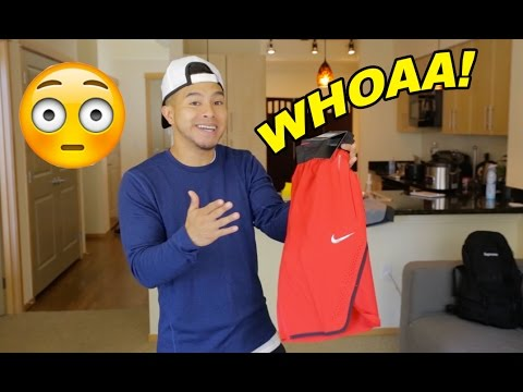 WHOA! $100 NIKE SHORTS?! ARE THEY WORTH IT?