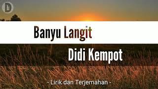 Download lagu Banyu Langit - Didi Kempot (lirik + terjemahan)