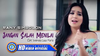 Gambar cover Rany Simbolon - Jangan Salah Menilai (Official Music Video)