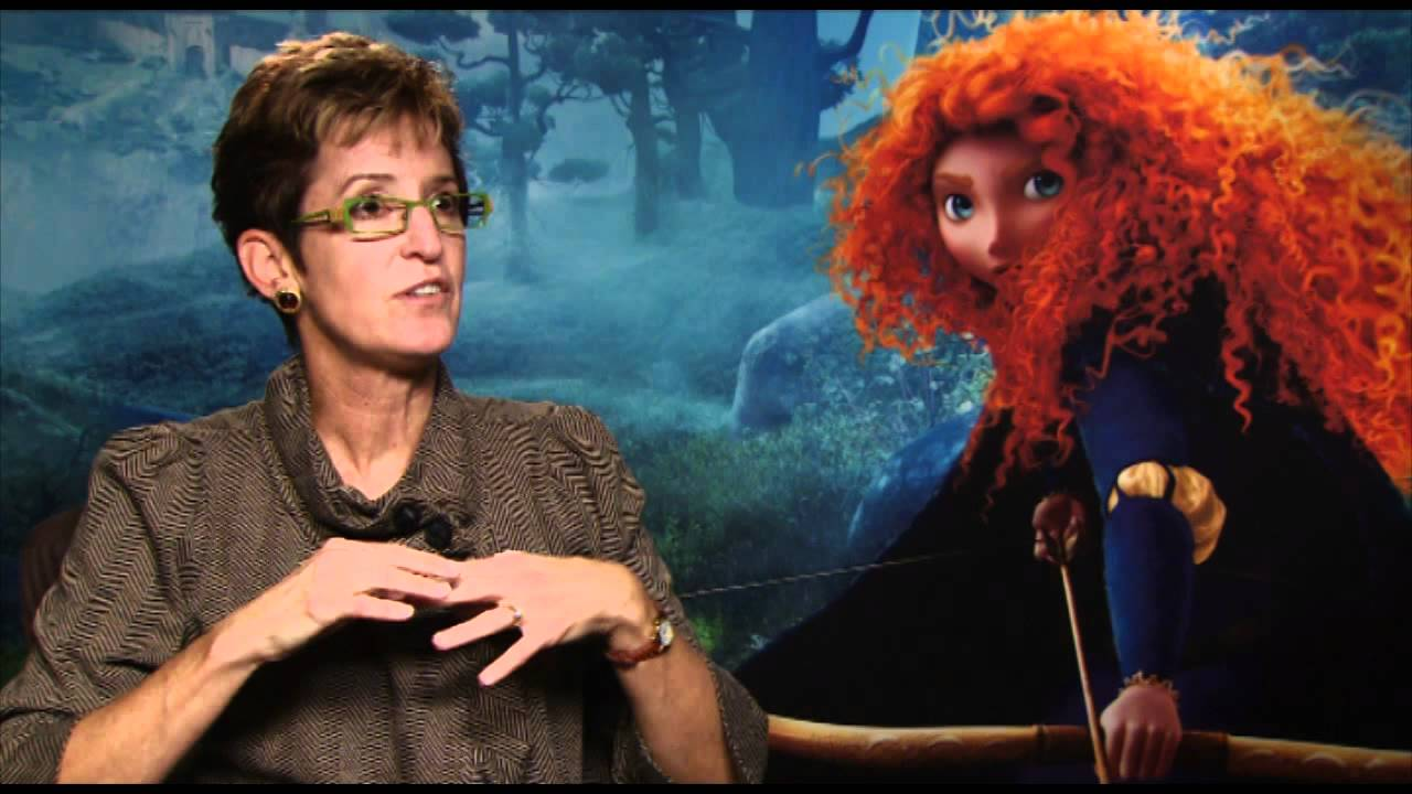 BRAVE - Pixar interview with Tia Kratter animator - YouTube