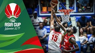 Highlights from Iran v Lebanon in Slow Motion - Quarter Final - FIBA Asia Cup 2017