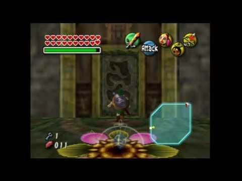 Woodfall Temple's Stray Fairy Locations (N64) - The Legend of Zelda: Majora's Mask Walkthrough