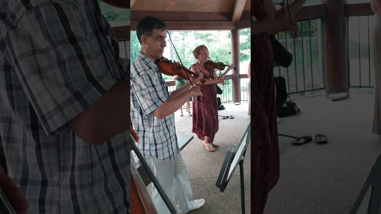 Fiddle Fun at Mountainside Chamber Strings Camp 2021.