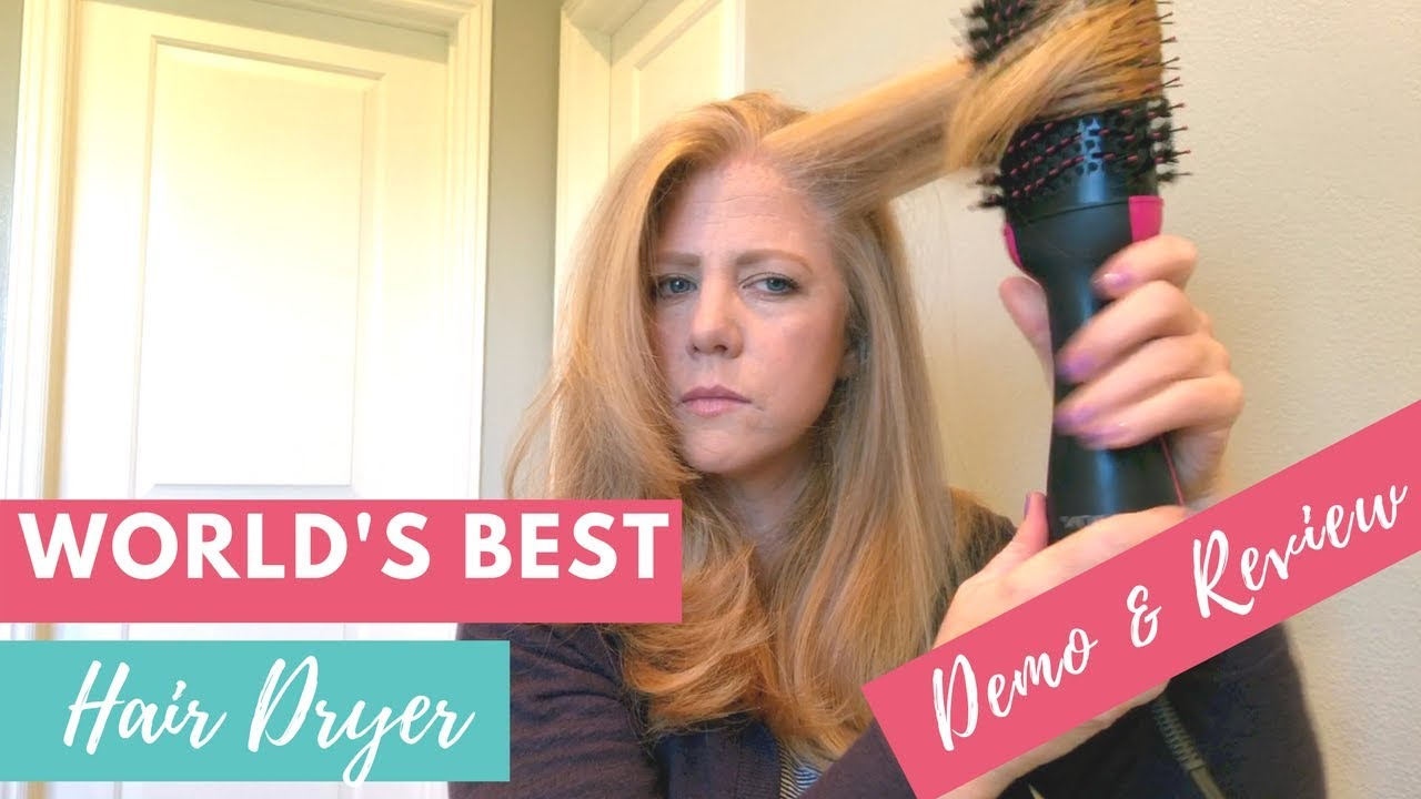 Magic Hairdryer Revlon One Step Hair Dryer And Volumizer Review