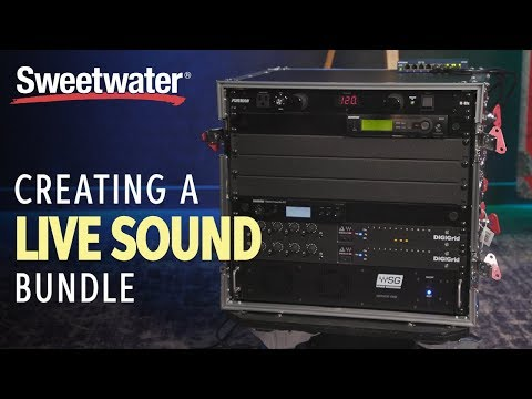 Creating A Live Sound Bundle