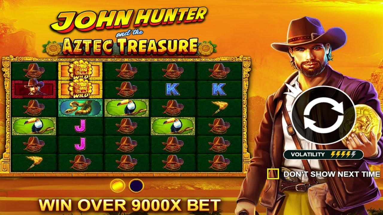 👑 John Hunter And The Aztec Treasure Big Win 💰 A Game By Pragmatic Play.  - YouTube