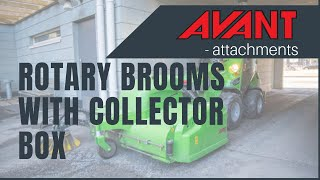 Rotary Brooms with Collector Box 2, Avant 300-700 Series attachment Thumbnail