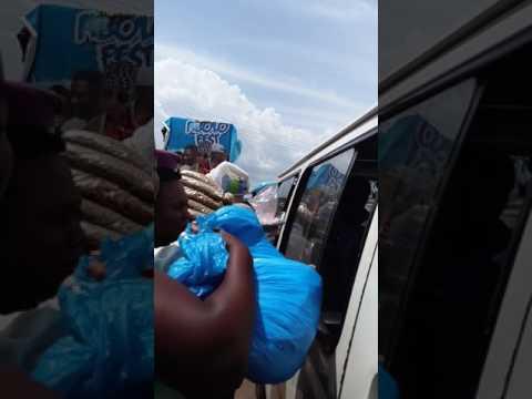 Marryingghana Kpong trotro drop/station on way to Accra in trotro