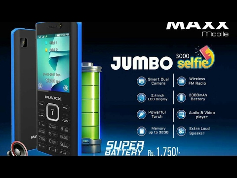 Maxx Jumbo Selfie Review By Mobile World Urdu