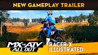 MX vs ATV All Out - NEW Gameplay Trailer!