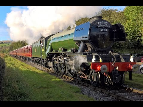 Flying Scotsman Returns - East Lancs Railway - 13th October 2016 (4K)