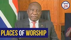 WATCH   Ramaphosa green lights religious gatherings under Level 3