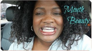 HOW I MAKE MY MOUTH BEAUTIFUL | BRIGHTENING AND TIGHTENING MY TEETH