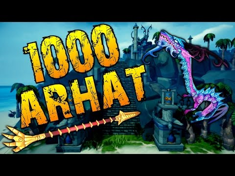 Runescape - Loot From 1000 Arhat