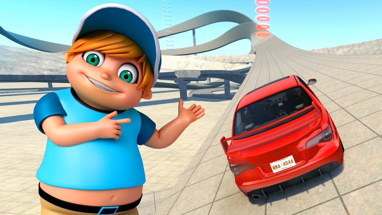 RACING CARS FOR KIDS - YouTube