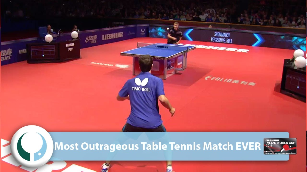 Most Outrageous Table Tennis Match Ever Youtube